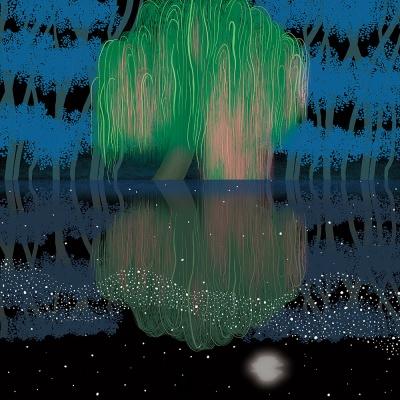 밤의 나무 / 일러스트 액자