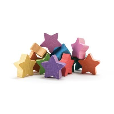 오카모라 레인보우 별 발도로프 교구 장난감