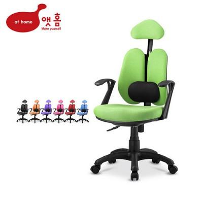 앳홈 센스 더블메쉬 [해더형+요추] 의자