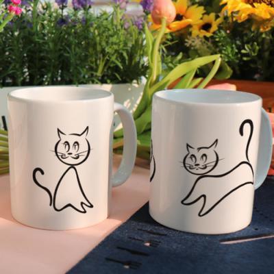 cf978-디자인머그컵2p-유연한고양이