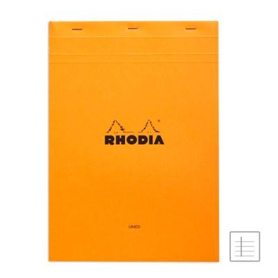 로디아 오렌지 메모패드 줄지 NO.18