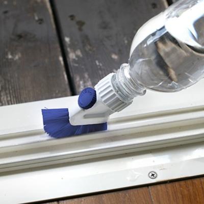 코쿠보 페트병 재활용 창틀청소 밸브형 브러쉬 B 3521