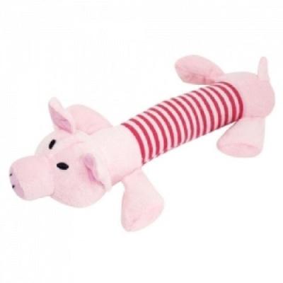강아지 봉제완구 돼지 강아지장난감인형 애견토이