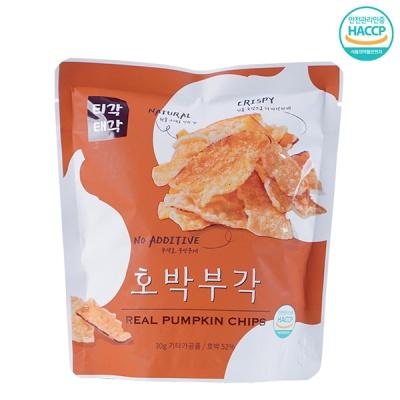 [속초명물] 바삭바삭 달콤함 호박 부각 30gx5개