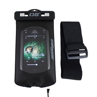 오버보드 프로 스포츠 아이팟/MP3 방수 케이스(아이폰5S/5C/4S 호환)[OB1027BLK]