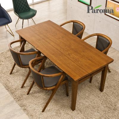 파로마 아벨 애쉬원목 4인용 식탁세트 의자형 A16