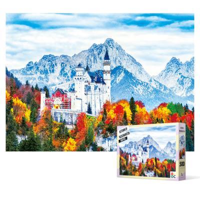 500피스 직소퍼즐 - 슈반스타인 성의 가을