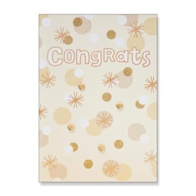 홀마크 축하 카드(골드스팽글)-KED2556