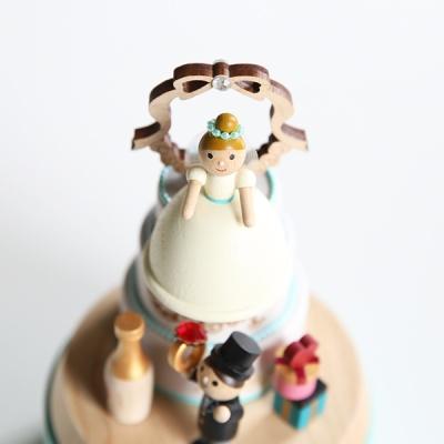 우더풀라이프 오르골 NEW WEDDING CAKE