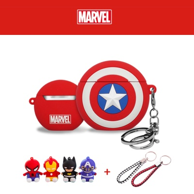 에어팟 1/2 차이팟 정품 마블 캐릭터 케이스 281 캡틴