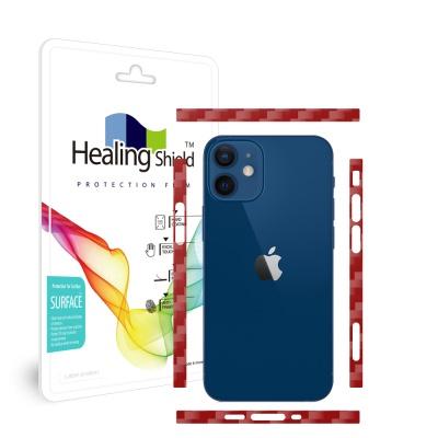 아이폰12 미니 카본와인 측면테두리 보호필름 1세트