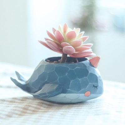 ROOGO 루고화분 조각조각 파랑고래