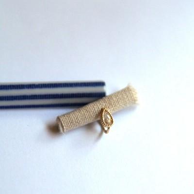 10k gold rain ring earring