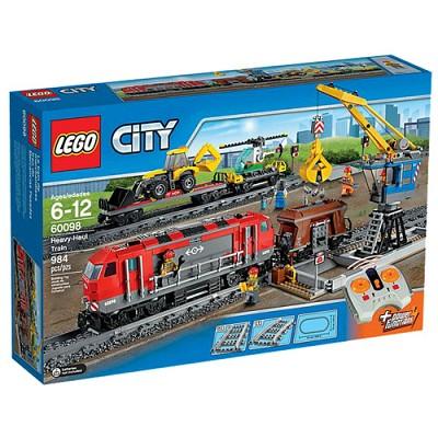 [레고 시티] 60098 중량물 운송열차