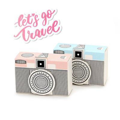 유니크 감성 카메라 상자 2개 (1set)