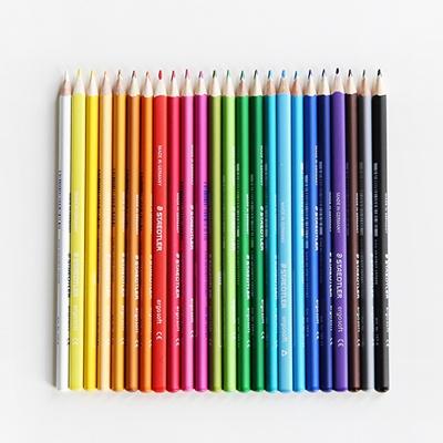 스테들러 에고소프트 삼각색연필 157