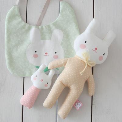 [꼼지] 토끼 태교 세트 만들기 D.I.Y