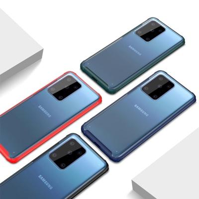 갤럭시노트10 플러스 슬림 컬러 라인 투명 하드케이스