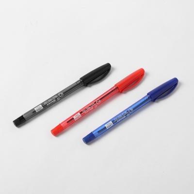 사무용 볼펜 12p세트 1.0mm(흑적청)/펜 필기류 볼펜세