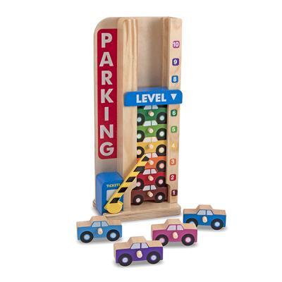 자동차 쌓기 놀이와 숫자 세기