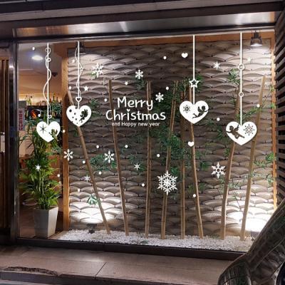제제데코 크리스마스 눈꽃 스티커 장식 CMS4J136