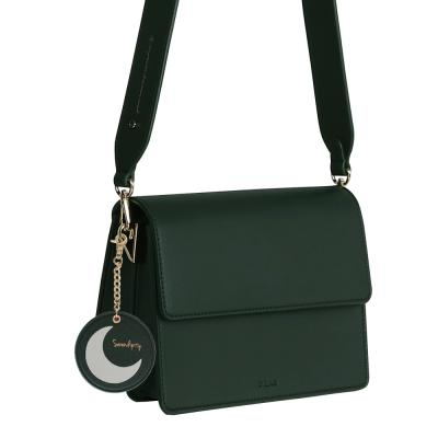 (달거울 증정/탄생석) Two way Bag (S) - Green