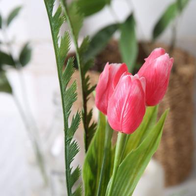 [마쉬매리골드]분홍 튤립 다발