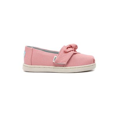 탐스 키즈 보우 핑크