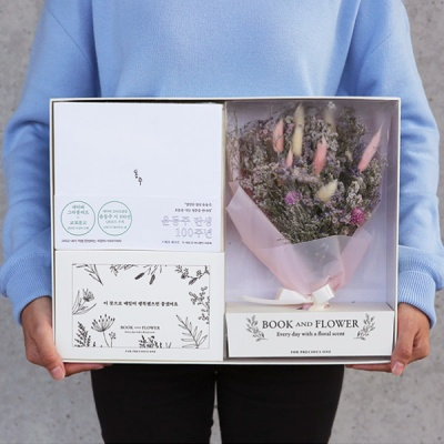 BOOK AND FLOWER (책+디퓨저+플라워)
