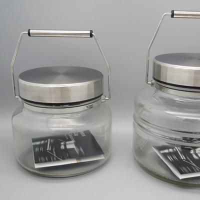 [아소반] 메탈캡 저장용기 (소스국자 포함)