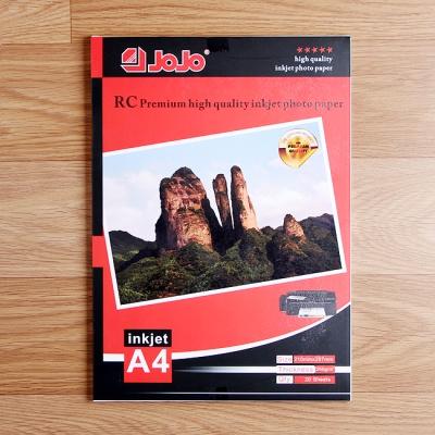 컬러잉크젯 페이퍼 포토 인화지(A4-20매) (260g)