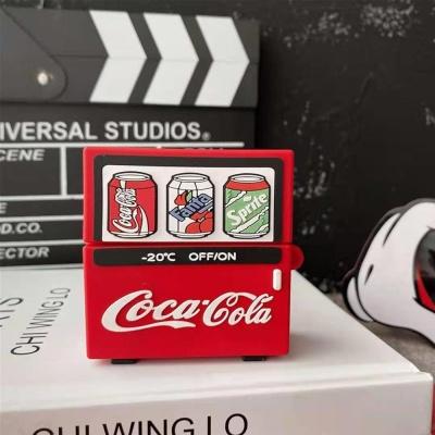 특이한 에어팟 1/2/3 PRO 탄산 자판기 실리콘 케이스