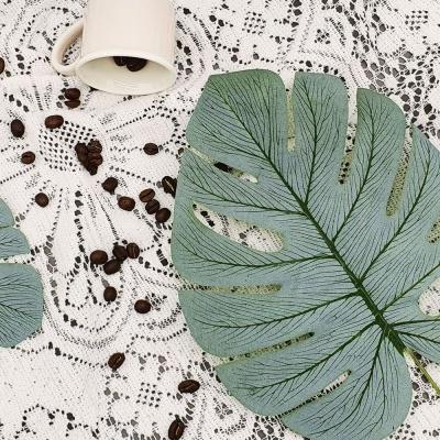몬스테라 나뭇잎 조화 세트B