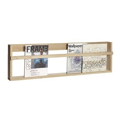 [Hubsch]Wall shelf, oak, nature 889024 선반