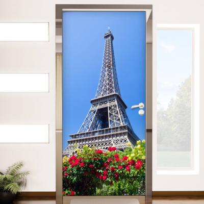 cr594-프랑스의명소에펠탑_현관문시트지
