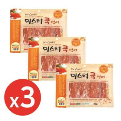 미스터쿡300g 연어스테이크 x3개 강아지간식