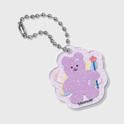 Angel bear-purple(글리터키링-퍼플)
