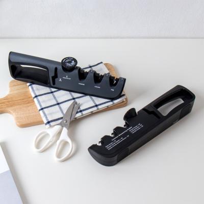 4단 칼갈이 각도조절 세라믹 칼 연마기 샤프너 SH015