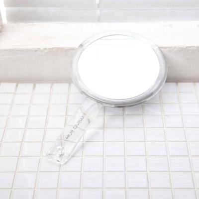 미로 라인 손잡이 원형 거울 ST-326 손거울 휴대용
