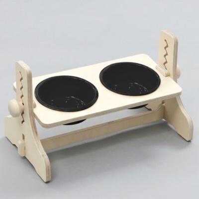 힐링타임 높이조절 원목식탁-2구 (도자기/블랙) sj