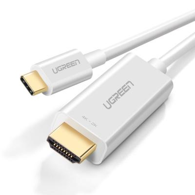 유그린 C타입 to HDMI 미러링 케이블 화이트 1.5m