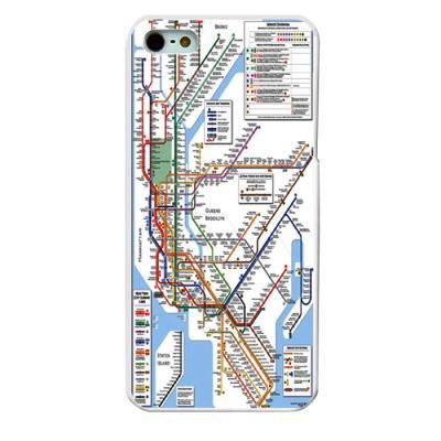 뉴욕 지하철지도 케이스(갤럭시노트2)