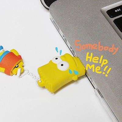 [트라이브] 심슨 캐릭터 USB 메모리 (16G)