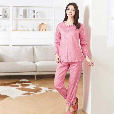 BYC 여성 잠옷 센스 세트 핑크 CH1503022