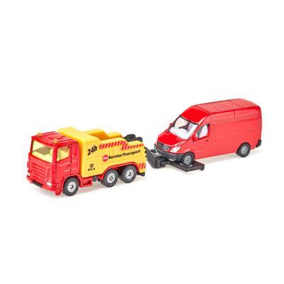 [시쿠]견인트럭과 밴