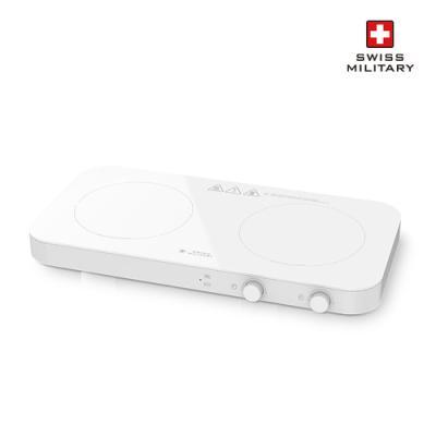 스위스밀리터리 2구 인덕션 IH 전기렌지 FS-IRC118