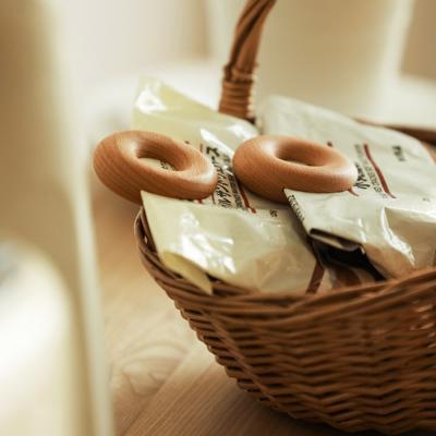 우드도넛 주방 봉지 봉투 비닐 밀봉 집게 클립