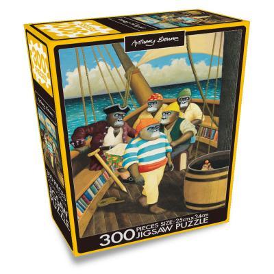 앤서니 브라운 300PCS 직소퍼즐 : 보물섬