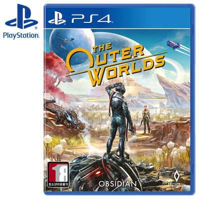 PS4 더 아우터 월드 한글판 The Outer Worlds