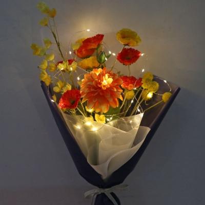 [마쉬매리골드]로얄 양귀비 꽃다발-포장추가/화병추가안함